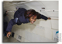 Student From Howard University Middle School of Math and Science Goes Weightless With Zero Gravity Corporation