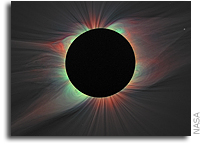 Eclipses yield first images of elusive iron line in the solar corona
