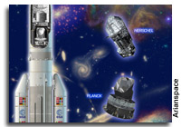 Integration of Ariane 5 is Completed for Herschel and Planck Telescope Launch