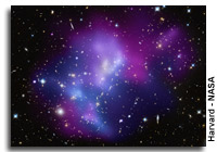Chandra Images Cosmic Heavyweights