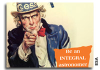 The European Space Agency Wants You!