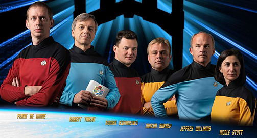 NASA/Trek poster