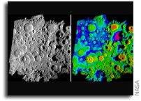 NASA Scientists Bring Light to Moon's Permanently Dark Craters