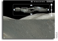 NASA and Google Launch Virtual Exploration of the Moon