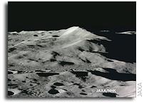 Last Photos of the Moon Captured by the HDTV Camera Aboard KAGUYA (SELENE)