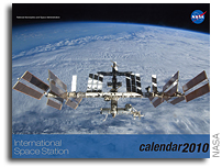 Space Station 2010 Calendar Celebrates a Decade of Research