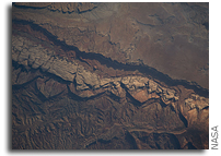 ISS Photo: Big Thompson Mesa