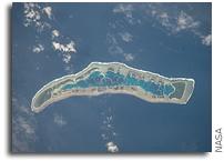 ISS Photo: Millennium Island