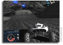 Lunar Racing Championship Is One Small Step for man - One Giant Leap for Gamers (with screen shots)