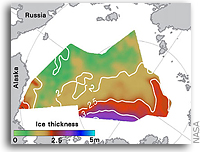 Satellites, Submarines, and Sea Ice Thickness