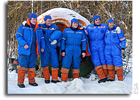 Final European crewmembers announced for human Mars mission simulation