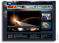 NASA Launches Mission:Science Web Site for Teenagers