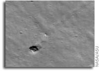 Bouncing Boulders on the Far Side of the Moon