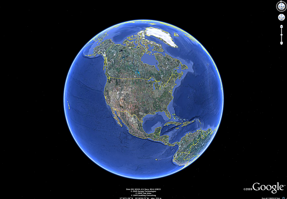 Google earth 5 0 is available spaceref for Jobs in outer space