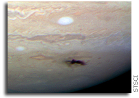 Hubble Space Telescope Captures Rare Jupiter Collision