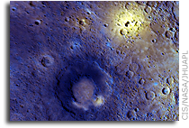 MESSENGER Spacecraft Reveals New Information About Mercury