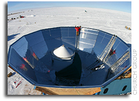 South Pole-based Experiment Confirms Main Model for the Cosmos