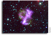 Supernova Remnant is an Unusual Suspect