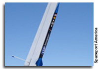 UP Aerospace SpaceLoft XL Rocket Launches from Spaceport America