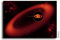 NASA's Spitzer Space Telescope Discovers Largest Ring Around Saturn
