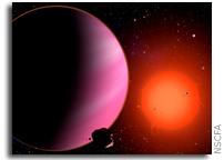 Transit Search Finds Super-Neptune