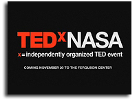 TEDxNASA@Siliconvalley On Aug. 17 Will Be Streamed Online