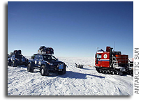 IPY Traverse Overland exploration of East Antarctica collects data for last thousand years of climate