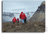 Antarctic Expedition Prepared Researchers for Mars Project