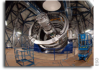 VISTA: Pioneering New Survey Telescope Starts Work