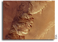 Mars Express Image: Floor of Melas Chasma
