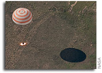 International Space Station Expedition 23 Crew Lands Safely
