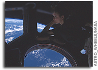 Photo: In The Cupola, Gazing Down at Earth From Orbit