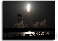 Launch of NASA's Shuttle Endeavour Sparks Early Monday Sunrise