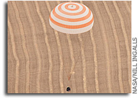 International Space Station Expedition 24 Crew Lands Safely