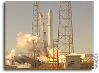 SpaceX Schedule for COTS Demo 1 Launch Day Activities