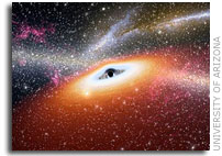 University of Arizona astronomers discover most primitive supermassive black holes known