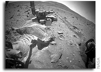 Mars Exploration Rover Spirit Update: Little Forward Progress