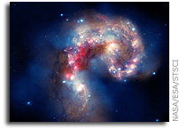 A Galactic Spectacle: Antennae Galaxies