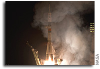 New Space Station Crew Members Launch From Kazakhstan