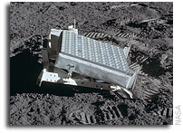 Long-term Degradation of Optical Devices on the Moon