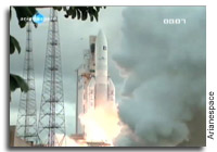 An Ariane 5 Successfully Launches the Hispasat 1E and KOREASAT 6 Satellites