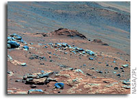 NASA Rover Finds Clue to Mars' Past and Environment for Life