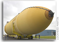 Lockheed Martin Delivers Next-to-Last Space Shuttle Flight Tank to NASA