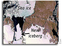 Greenland Glacier Gives Birth to Giant Iceberg