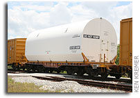 Last Shuttle Booster Segments Arrive at KSC
