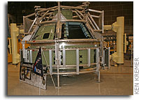 NASA's First Lunar Orion Test Capsule Built