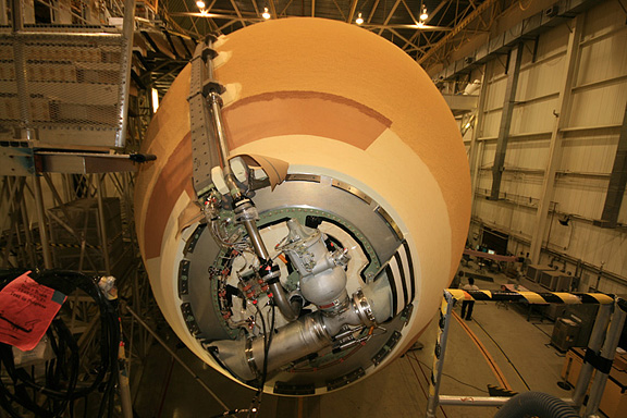space shuttle oxygen tank - photo #41