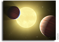 NASA's Kepler Mission Discovers Two Planets Transiting the Same Star
