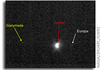 New Horizons Images: LORRI Looks Back at