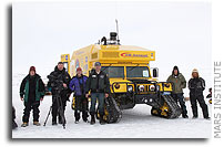 Mars Institute team to complete Arctic sea-ice drive along fabled Northwest Passage to reach